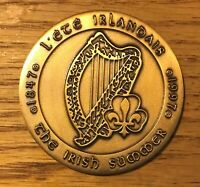 1847-1997 BRONZE MEDAL QUEBEC 150 th THE IRISH SUMMER THE GREAT FAMINE RARE 2458