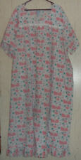 PRETTY WOMENS LANE BRYANT FULL LENGTH FLORAL PRINT SUMMER NIGHTGOWN  SIZE 4X
