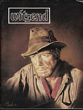 WITZEND # 12 COMIC FANZINE SCI-FI HORROR COMICS WALLY WOOD 1982 DON MARTIN DITKO