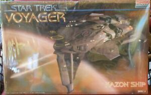 MONOGRAM STAR TREK VOYAGER KAZON SHIP - NEW, SEALED