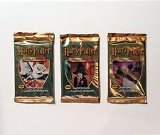Harry Potter Sammelkartenspiel TCG – 3 Booster Set – Basisset Deutsch – Base set