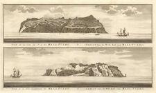Alejandro Selkirk Island profile, Juan Fernandez, Chile. Mas Afuera. SCHLEY 1757