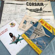 Vintage Model Airplane Magazine Air Trails 1953 RC Modeler 1968 Pictures Corsair