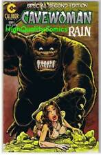 CAVEWOMAN RAIN #4, 2nd, VF+, Dinosaurs, Budd Root, 1997, more CW's in store