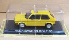 "DIE CAST "" VOLSKWAGEN GOLF JGL "" LEGENDARY CARS SCALA 1/43"