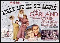 Meet Me In St. Louis 5  Posters Musicals Classic & Vintage Films