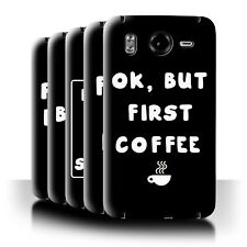 STUFF4 Back Case/Cover/Skin for HTC Desire HD/G10/Funny Girl/Woman Quote