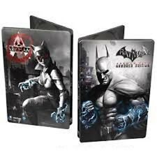 XBOX 360 Steelbook BATMAN Arkam City Armoured Edition format DVD neuf