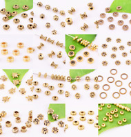 Wholesale Antiqued Gold Loose Spacer Beads Jewelry Findings DIY ~Many shapes~