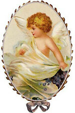 VinTaGe ImaGe Xl OvaL AnGeLs ShaBby WaTerSliDe DeCals *FurNiTuRe SiZe*
