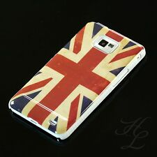 Samsung Galaxy S2 i9100 Hard Case Schutz Hülle Cover UK England Vintage