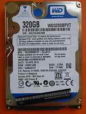 Western Digital WD3200BPVT-22JJ5T0 | HHMTJHB | 19 APR 2014 | 320GB disco rigido