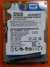 Western Digital WD 3200 bpvt - 22jj5t0 | hhmtjhb | 19 apr 2014 | 320gb disco rigido