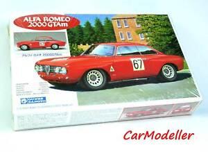 Gunze Sangyo 1:24 scale Alfa Romeo 2000 GTAm kit #G184 - very rare kit from 1992