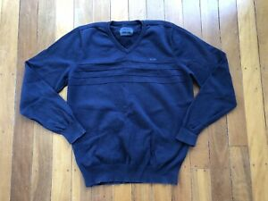 Mens Mossimo Blue Sweater Knit Jumper Size Large