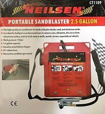 Air Powered sandbaster Portátil Kit De 2.5 galón-Arena Blaster
