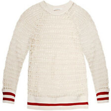 [Isabel Marant Etoile] Cilla Crochet Lace Pullover Knit Top Ecru New without Tag