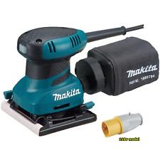 Makita BO4556 110v 1/4 sheet palm sander clamp style * 3 year warranty option *