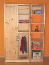 Kleiderschrank , Kiefer massiv, System, neu, 190x127,5x52 cm