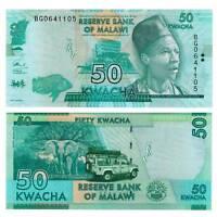 Pick 58 Malawi 50 Kwacha 2017  Unc. / 612948vvv