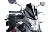 PUIG NAKED N.G. SPORT SCREEN KAWASAKI ER-6N 12-17 BLACK