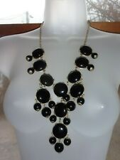 Fashion Black Dangle Necklace