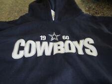 Dallas Cowboys Hooded Sweatshirt - Blue/White - Youth XL