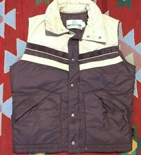 Vintage 80s Pacific Trail Sportswear Down Filled Puffer Vest Large