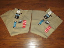 Dickies Desert Sand FLEX Relaxed double knee pants Size 32 x 32 WP899DS (2 Pair)