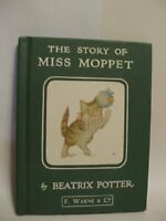 The Story of Miss Moppet (The Original Peter Rabb... by Potter, Beatrix Hardback