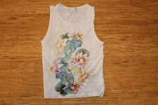 GIRLS LITTLE PAUL AND JOE SINGLET TOP GOOD USED CONDITION SIZE 8