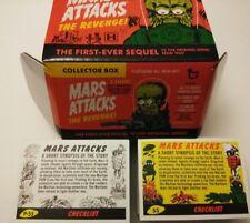 2017 Topps MARS ATTACKS Revenge 110-card set 55 base +55 pencil art + empty box