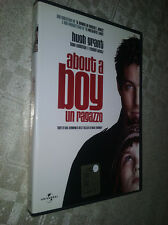 Cofanetto+DVD Nuovo film ABOUT A BOY - UN RAGAZZO FILM DVD NUOVO DI CHRIS WEITZ,