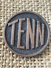 WWI US TENN Collar Disc Tennessee Original