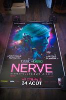 NERVE 4x6 ft Bus Shelter D/S Movie Poster Original 2016