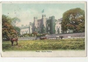 Perth Scone Palace Perthshire Scotland 11 Aug 1906 Postcard 245c