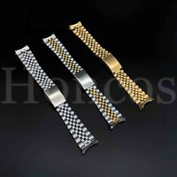 20mm Heavy Oyster Stainless Steel Watch Bracelet Band DATE for Rolex Jubilee USA