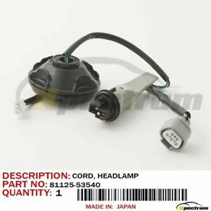 LEXUS 10-14 IS-F/250/350 FACTORY OEM 81125-53540 NEW HEADLAMP WIRE HARNESS CORD