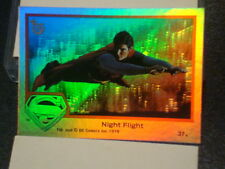 """2013 TOPPS 75TH ANNIVERSARY """"SUPERMAN THE MOVIE"""" RAINBOW FOIL PARALLEL CARD #74"""