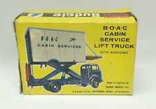 BUDGIE TOYS Nr.302 B.O.A.C. Cabin Service Lift Truck Leerkarton - nur OVP