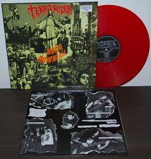 Terrorizer-World down caso LP/Red VINILE/LIM. 300/RARE