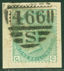 EDW1949SELL : GREAT BRITAIN 1873 Sc #64 Very Fine, Used. Choice stamp. Cat $105+