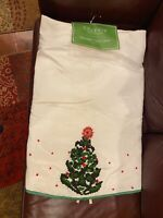 NWT Celerie Kemble Christmas Tree Skirt Heavily Beaded 62""