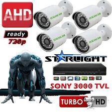 KIT VIDEOSORVEGLIANZA 5 in 1 - XVR + 4 Telecamere SONY HD-CVI/TVI 3000 TVL