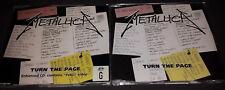 Metallica:Turn The Page Part 1 & 2 U.K. Import 1998 W/Live Tracks