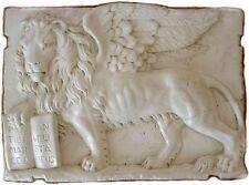 Bassorilievo Leone di San Marco con Vangelo - effetto Marmo - Grande