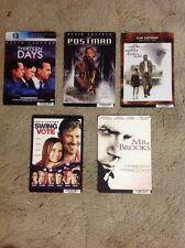 Kevin costnerDvd Backer cards MINI POSTER no dvd. 5 Kevin Costner movie...