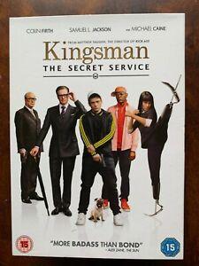 Kingsman the Secret Service DVD 2015 Action Spy Movie w/ Colin Firth + Slipcover