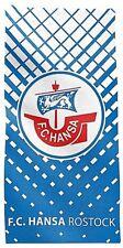 FC Hansa Rostock Fanartikel Handtuch 50x100 cm 100% Baumwolle Sport Freizeit