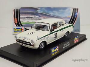 "Slot Car Scalextric Revell 08376 Lotus Cortina #31 "" Massimo Vezzosi """